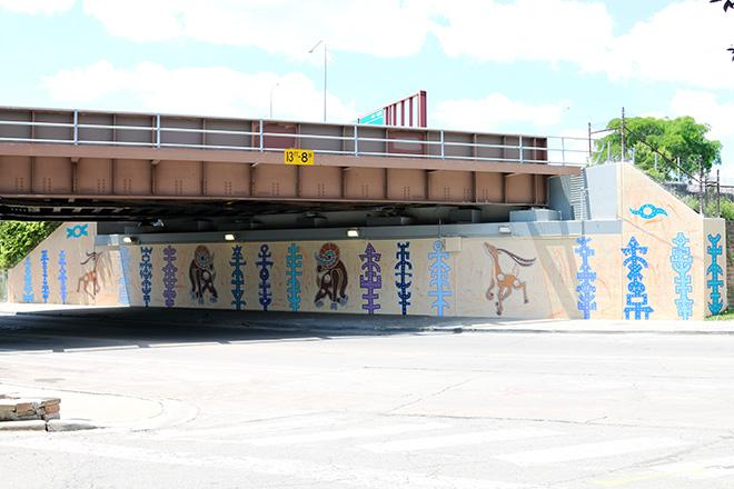 Tony Passero RamZelle Mural Long From Right