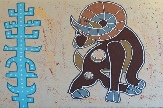 Tony Passero RamZelle Totem and Right Side Ram