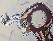 Toro Totem Mural
