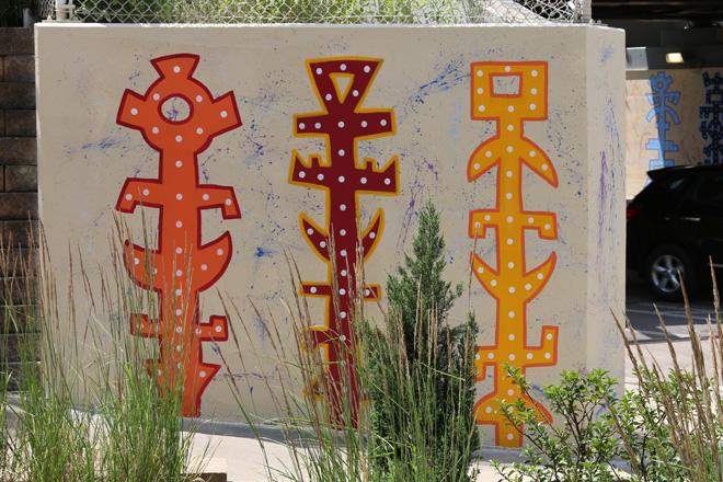 Tony Passero Toro Totem Mural Corner Wrap