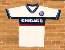 Chicago Fire Jersey Mural