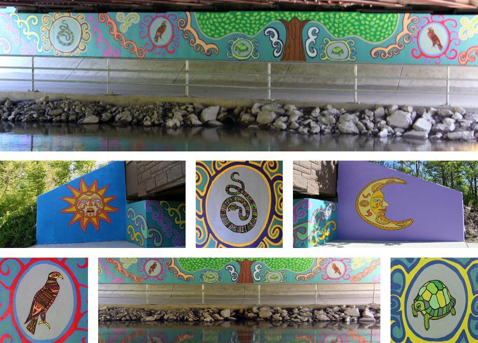 Tony Passero Tierra Mural Detail